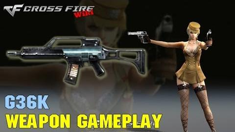 CrossFire - G36K - Weapon Gameplay