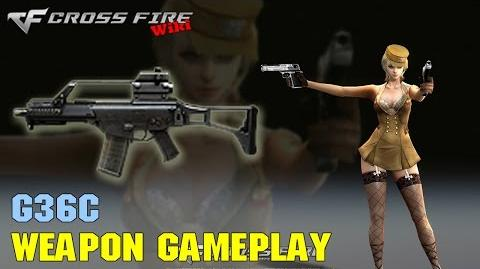 CrossFire - G36C - Weapon Gameplay