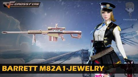 CrossFire China Barrett M82A1-Jewelry VVIP Weapon