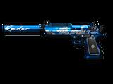 Desert Eagle-S Blue Silver Dragon