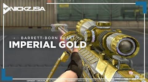 SKIN TERBAIK UNTUK BARRETT? (Barrett-Born Beast-Imperial Gold) CROSSFIRE China 2