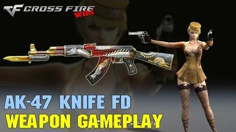 CrossFire - AK-47 Knife Flying Dragon - Weapon Gameplay