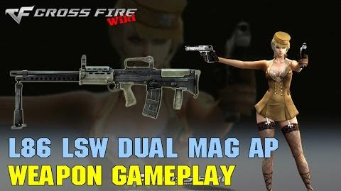 CrossFire - L86 LSW Dual Mag AP - Weapon Gameplay