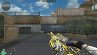 M4A1 S G SPIRIT NOBLE GOLD CHANGE MODE