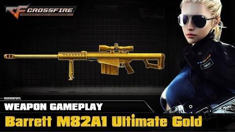 CrossFire Philippines - Barrett M82A1 Ultimate Gold ☆