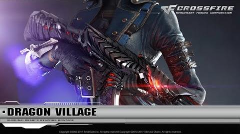 CrossFire Promotion AK-47-Knife Born Beast & Shovel-Born Beast (CG)
