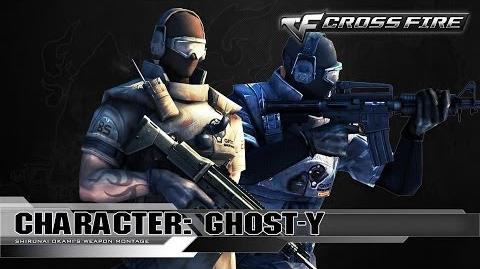 CrossFire Character GHOST-Y ☆