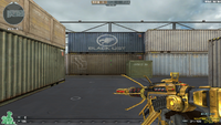 M4A1 S UNDER TECH GOLD RELOADING