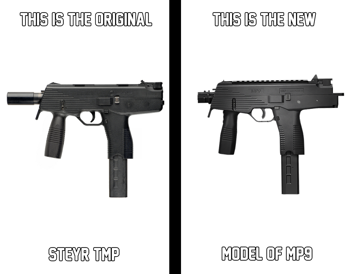 Difference or similar between TMP & MP9