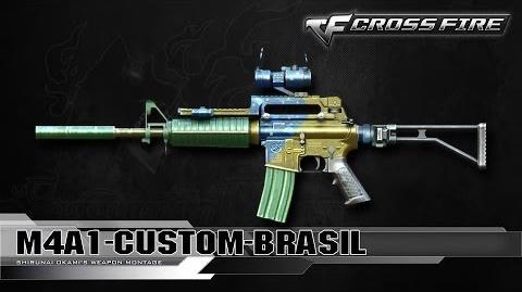 CrossFire Vietnam M4A1-Custom Brazil ☆