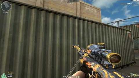 Cross Fire China -- Barrett M82A1-Gold Phoenix!