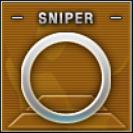 Sniper Badge Class C Level 3