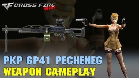 CrossFire - PKP 6P41 Pecheneg - Weapon Gameplay