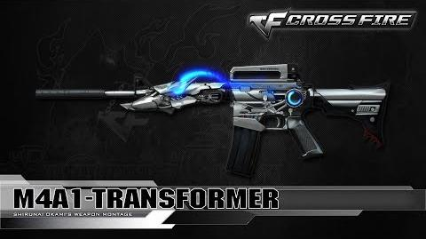 CrossFire Vietnam M4A1-S Tranformer ☆-1