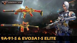 CrossFire China 9A-91-S & Scorpion EVO3A1-S Elite (Showcase)