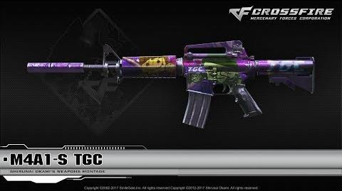CrossFire China M4A1-S TGC