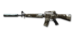 M16 Silencer Camo