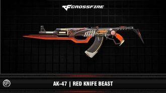 CF AK-47 Red Knife Beast (VIP)