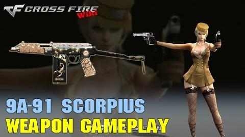 CrossFire - 9A-91 Scorpius - Weapon Gameplay