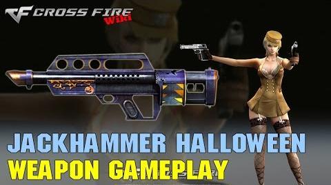 CrossFire - Jackhammer Halloween - Weapon Gameplay