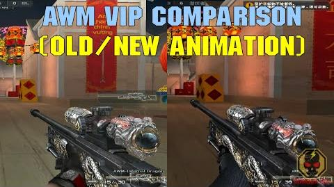 CrossFire VN - AWM VIP Comparison (old new animation)