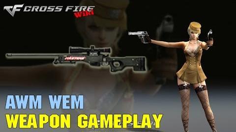 CrossFire - AWM WEM - Weapon Gameplay
