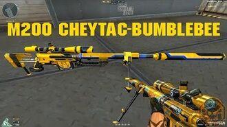 -CF News- M200 CheyTac-Bumblebee (M200 CheyTac-Mecabelha) CrossFire Brazil - GAMEMASSACRE