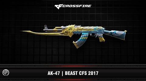 CF AK-47 Beast CFS 2017