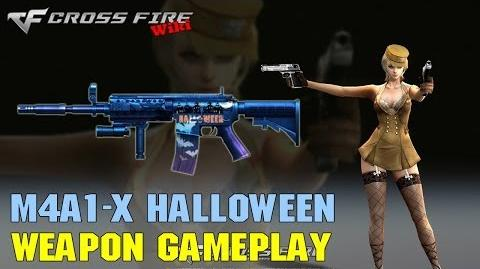 CrossFire - M4A1-X Halloween - Weapon Gameplay
