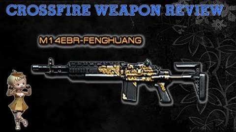 CrossFire China - M14EBR-Fenghuang (Golden Dragon) -Review- !