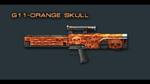 Cross Fire China G11-Orange Skull (Assault Rifle) Review!-1