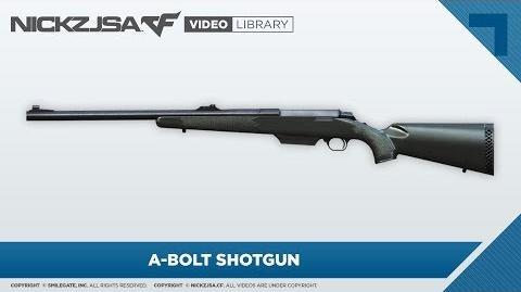 A-Bolt Shotgun CrossFire 2.0