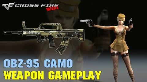 CrossFire - QBZ-95 Camo - Weapon Gameplay