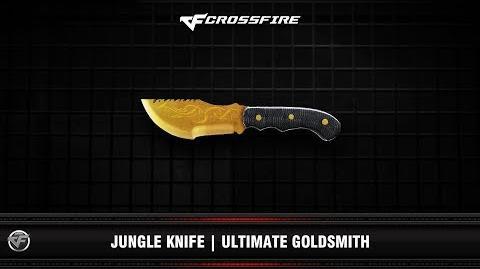 CF Jungle Knife Ultimate Goldsmith