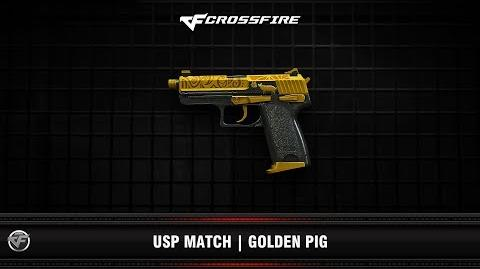 CF USP Match Golden Pig