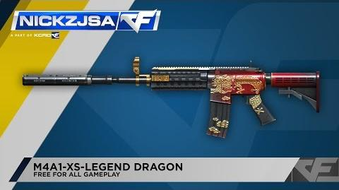 CrossFire Indonesia M4A1-XS-Legend Dragon