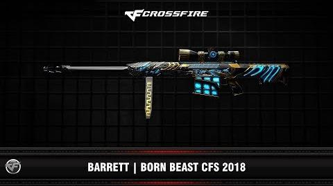 CF Barrett Born Beast CFS 2018