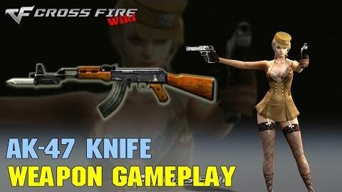 CrossFire - AK-47 Knife - Weapon Gameplay