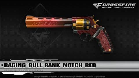 CrossFire China Raging Bull-Rank Match Red