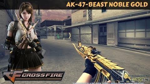 CrossFire Vietnam - AK-47-Beast Noble Gold