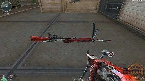 Cross Fire NA UK M240B-Red Eagle !