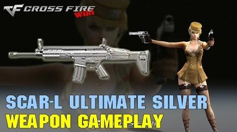 CrossFire - SCAR-Light Ultimate Silver - Weapon Gameplay