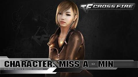 CrossFire Character MIN - Miss A ☆