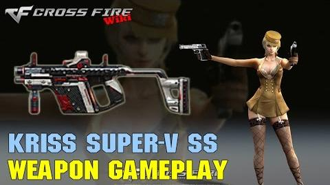 CrossFire - Kriss Super-V SS - Weapon Gameplay