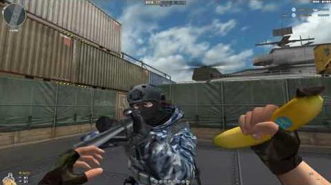 Cross Fire China Banana Knife!