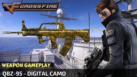 CrossFire Vietnam - QBZ-95 - Digital Camo