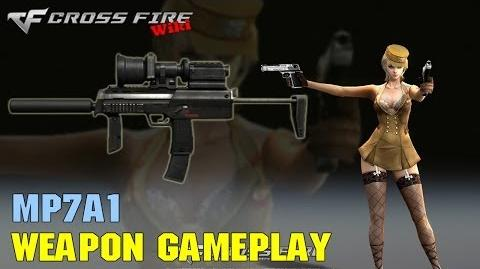CrossFire - MP7A1 - Weapon Gameplay