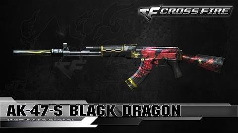 CrossFire Vietnam AK-47-S Black Dragon ☆