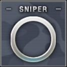 Sniper Badge Class C Level 1