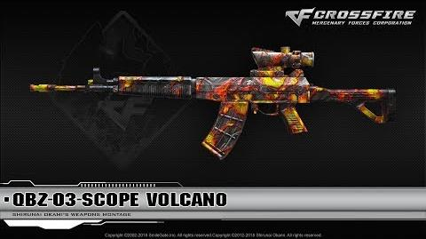 CrossFire China QBZ-03-Scope Volcano